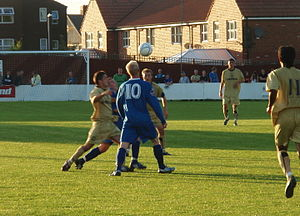 Cammell Laird 1907 F.C. - Cammell Laird play in a friendly against Tranmere Rovers in 2008