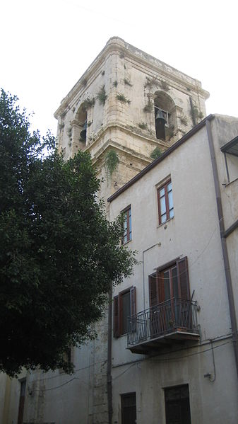 File:Campanile della Chiesa madre, Grotte (Agrigento) - 02.JPG