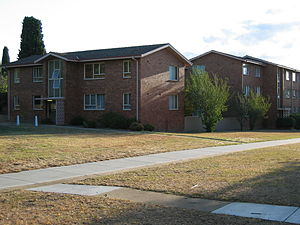 Campbell, Australian Capital Territory - Image: Campbell Flats