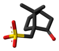 Camsilate anion 3D skeletal.png