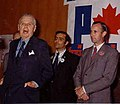 Canadian Prime Minister Diefenbaker & Peter Bawden, Canadian Minister of Parliament.jpg