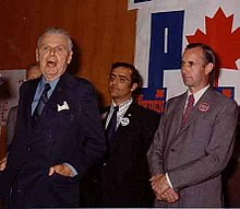 In 1972, with the strong endorsement of former Prime Minister Diefenbaker, Peter Bawden won the liberal stronghold, Calgary South, with one of the biggest landslides in the country.