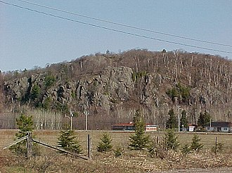 Prince, Ontario - Canadian Shield outcropping in Prince Township