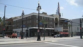 Saenger Theatre (New Orleans) - Exterior of venue (c.2007)