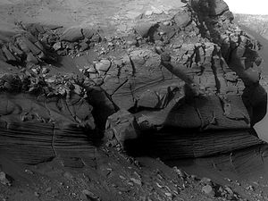 Cape Verde (Mars) - Image: Cape Vede Mars Closeup
