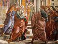 Cappella Tornabuoni, Expulsion of Joachim from the Temple 02.jpg
