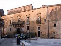 Caprarica di Lecce piazza.JPG