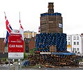 Car park bonfire, Belfast - geograph.org.uk - 877916.jpg