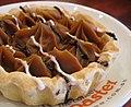 Caramel tart at The Coffee Roaster, 2007 (cropped).jpg