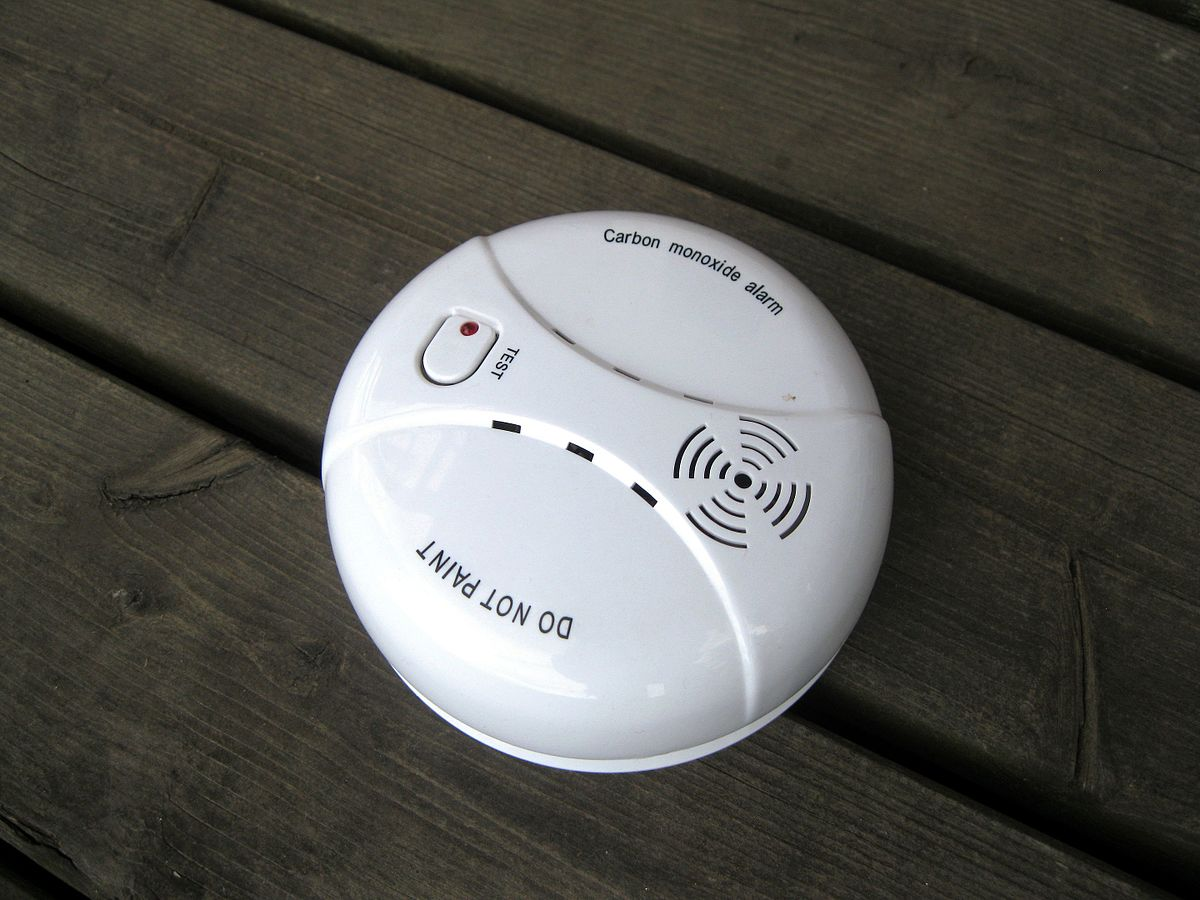 Carbon Monoxide Detector Wikipedia Leak Alarm Panel Wiring Diagram