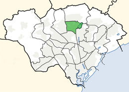 Cardiff ward location - Llanishen.png