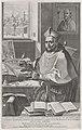 Cardinal Roberto Bellarmino at his desk, writing MET DP875073.jpg