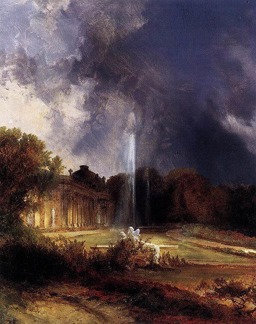 Carl Blechen - Sanssouci Palace - WGA2246