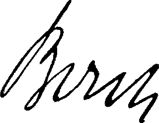 Carl Bosch Signature