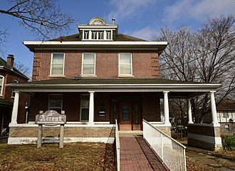 National Register of Historic Places listings in Cole County, Missouri - Image: Carl F and Elizabeth Deep House 210 W. Dunklin St