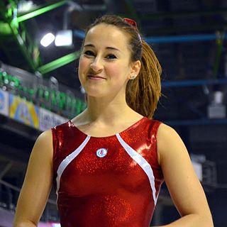 Carlotta Ferlito Italian gymnast