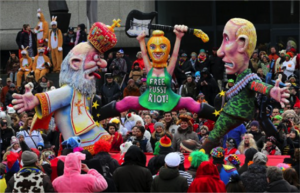 Carnival in the Netherlands - Carnaval 2013: Carnaval parades often emphasize ridiculing and social criticism