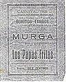 Carnaval de Malaga 1928 Murga Los Papas Fritas - Diego 'El Bollero'.jpg