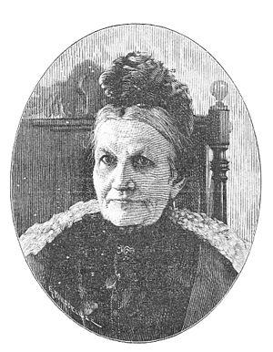 Carolina Lindström - Carolina Lindström, woodcut by Gunnar Forssell