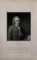 Carolus Linnaeus. Engraving by C. E. Wagstaff after A. Rosli Wellcome V0003606EL.jpg
