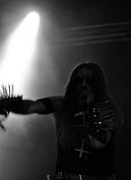 "Carpathian Forest, Roger ""Nattefrost"" Rasmussen at Party.San Metal Open Air 2013 02.jpg"