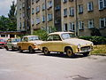 Cars in Mińsk Mazowiecki 1991.jpg