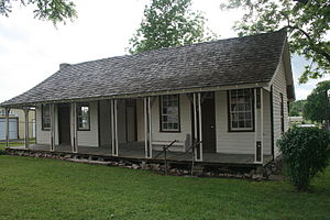 National Register of Historic Places listings in Baxter County, Arkansas - Image: Casey House