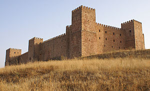Sigüenza - The medieval castle.