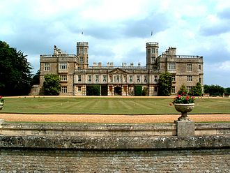 Castle Ashby House - The house today