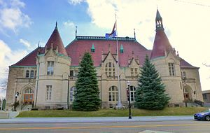 National Register of Historic Places listings in Saginaw County, Michigan - Image: Castle Museum 1 Saginaw Michigan