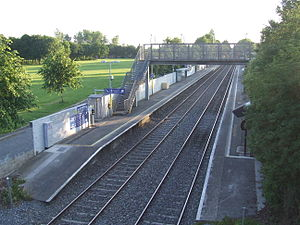 Castleknock Railway Station, Midsummers's Day 2014.jpg