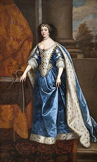 Catherine of Braganza Queen consort of England, Scotland and Ireland