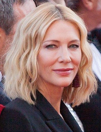 Cate Blanchett, Australian actress and theatre director