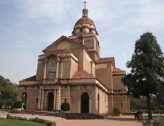 Church of North India - Image: Cathedral Church of the Redemption New Delhi