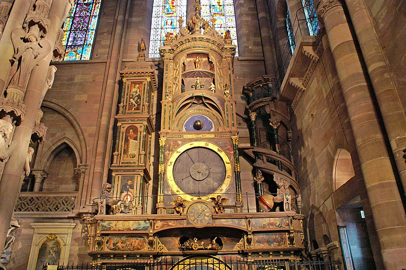 File:Cathedrale de Strasbourg - Horloge Astronomique.jpg