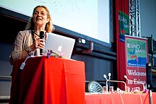 Catherine de Senarclens at Wikimania 2016 Esino Lario (27772493022).jpg