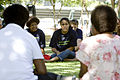 Cathy Freeman talks to survivors of domestic violence (10679044746).jpg