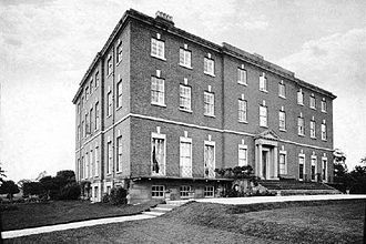 Catton Hall - Catton Hall in about 1875