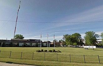 CBET-DT - CBC studios in Windsor, Ontario