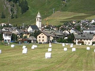 Celerina/Schlarigna Place in Graubünden, Switzerland