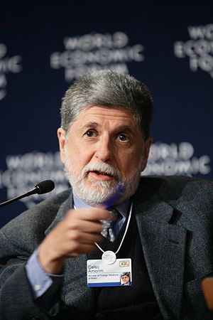 Celso Amorim - Amorim in 2007