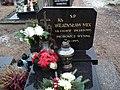 Cemetery in Wysin (Wladyslaw Mix, priest).jpg