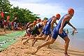 Central American and Caribbean Games 2010, Triathlon, in Mayagüez, Puerto Rico.jpg