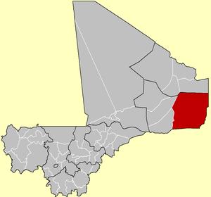Ménaka Region - Image: Cercle of Ménaka