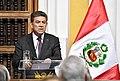 Ceremonia de presentación del canciller Gustavo Meza-Cuadra en el Ministerio de Relaciones Exteriores.jpg