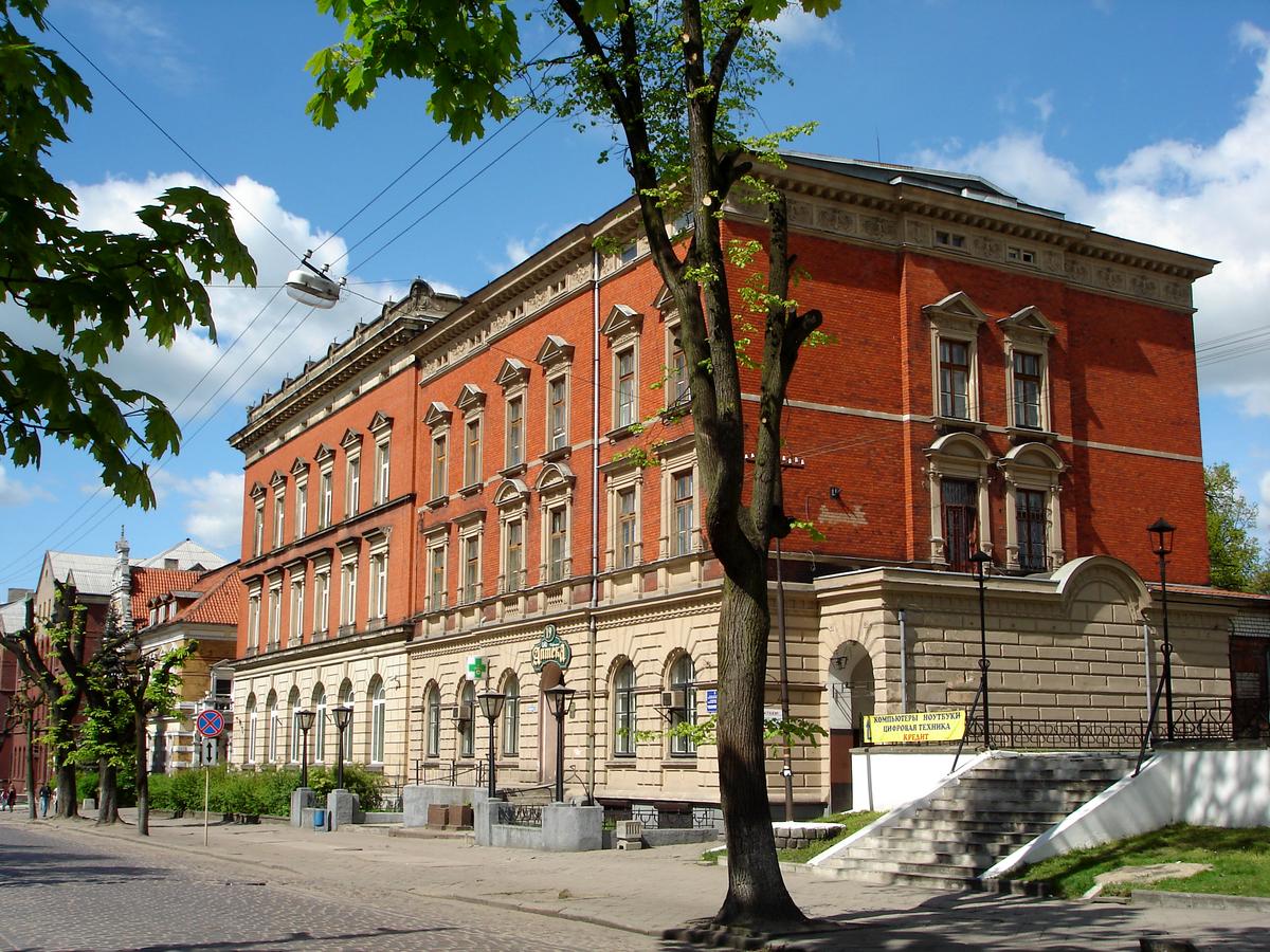 Черняховск пос.вершинино карта