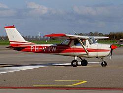 Cessna F 150 K PH-VRW Lelystad (LEY - EHLE), The Netherlands, 07 November 2004.jpg