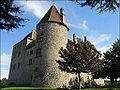 Château de Septème (vue sur une tour d'angle).JPG