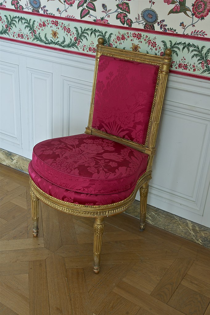 file chaise violon salle manger petits appartements de la reine wikimedia commons. Black Bedroom Furniture Sets. Home Design Ideas