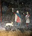 Chambre du cerf - le frère du pape à la chasse.jpg